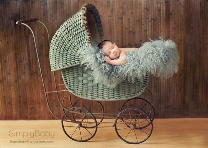 Newborn baby carriage
